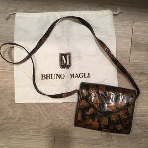 Bruno Magli | Vintage Leather Crossbody